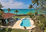 Location vacances  Jamaïque - On Beach in private grounds, Sleeps 12, Free Cook inc. 7 Beds, 5 Bdrms, (Bwvrb)-1