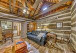 Location vacances Fredericksburg - Town Creek Log Cabin-4