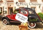 Hôtel Morhange - Design-Hotel Chapeau Noir-1