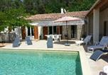 Location vacances Blauvac - Villa with 4 bedrooms in Le Beaucet with private pool enclosed garden and Wifi-1