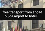 Hôtel Oujda - Hotel Lahlou riad Cafeteria-1
