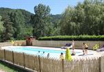 Camping avec Site nature Tournon-sur-Rhône - Camping Les Berges Du Doux-1