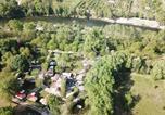 Camping avec Quartiers VIP / Premium Ardèche - Camping Le Clapas-1