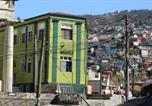 Location vacances Valparaíso - Hostal Dinamarca-4
