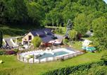 Camping avec Parc aquatique / toboggans Hautes-Pyrénées - Camping Sites et Paysages LA FORET LOURDES-2