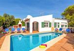 Location vacances Cala en Forcat - Sirenita 3 bedroom villa, Cala'n Blanes-1