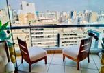 Location vacances Lima - N16: Nice Apartment In Malecon Balta Miraflores-3