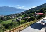 Location vacances Montreux - Appartement entier neuf et vue magnifique à Jongny-4