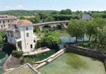 Location vacances Saint-Mamert-du-Gard - Four-Bedroom Holiday home Clarensac 0 08-2