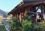 Location vacances Praz-sur-Arly - Chalet de 5 chambres a Praz sur Arly avec magnifique vue sur la montagne jardin amenage et Wifi a 300 m des pistes-4