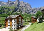Location vacances Albinen - Romantic Attic Apartment Edelweiss A42-2