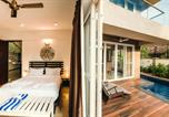 Location vacances Vagator - Uber Chic 4 bedroom Private Pool Villa in Anjuna/Vagator Close to the Beach-3