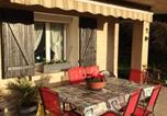 Location vacances La Tour-du-Pin - Apartment with one bedroom in Saint Victor de Cessieu with wonderful city view furnished terrace and Wifi-1