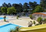 Camping avec Ambiance club Gironde - Camping les Embruns-1