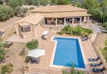 Location vacances Esporles - Four-Bedroom Holiday Home in Ses Rotgetes de Canet-1