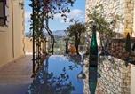 Location vacances Βάμος - Villa Koumos Heated Pool and Great Views-3