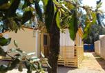 Camping avec Ambiance club Croatie - Mobile homes Maja Camp Soline-4