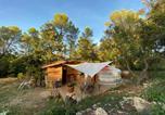 Location vacances Forcalqueiret - Yourte en Provence-4