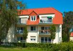 Location vacances Bad Saarow - Ferienwohnung Ursula in der Villa zum Kronprinzen direkt gegenüber der Saarow Therme-3