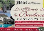 Hôtel La Séguinière - Hôtel De La Barbacane-2