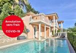 Location vacances Mandelieu-la-Napoule - Sublime Villa Vue Mer Avec Piscine-1