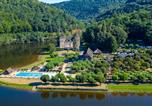 Camping avec Piscine couverte / chauffée Corrèze - Sea Green - Camping le Gibanel-1
