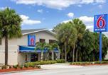 Hôtel Fort Lauderdale - Motel 6 Fort Lauderdale-4