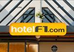Hôtel Calvados - Hotelf1 Caen Nord Mémorial-1