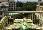 Location vacances Cagnes-sur-Mer - Bel appartement climatisé vue mer à 50 m de la plage-2