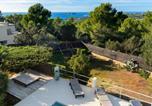 Location vacances Sant Josep de sa Talaia - Sea View Villa w/Pool Ac 20 mins from Ibiza Town 5 mins from Beach-2