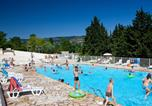 Camping avec Piscine couverte / chauffée Comps - Camping Ludo-1