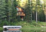 Location vacances Columbia Falls - Rustic Lakefront Cabin about 12 Mi to Glacier Ntl Park!-1