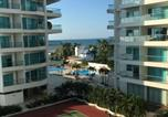 Location vacances  Colombie - Luxury Apartament Seaway Cartagena-1