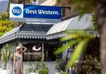 Hôtel Breil-sur-Roya - Best Western Hotel Mediterranee Menton-1