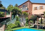 Location vacances El Grado - Villa with 7 bedrooms in La Puebla de Castro with wonderful mountain view private pool enclosed garden-1