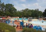 Camping avec Piscine couverte / chauffée Boussac-Bourg - Camping Champ Fosse-1