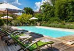 Location vacances Saint-Front-d'Alemps - Saint-Jean-de-Cole Villa Sleeps 15 Pool Wifi-1