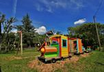 Camping avec Piscine couverte / chauffée Beaumont-du-Périgord - Camping Au Ptit Bonheur-4
