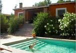 Location vacances Biar - Chalet rural con piscina en plena naturaleza-2