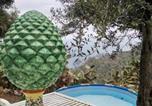 Location vacances Graniti - Casa Il Faro villa con piscina-1