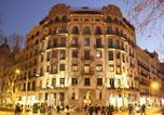 Hôtel Province de Barcelone - Safestay Passeig de Gràcia-3