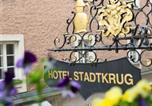 Hôtel Salzbourg - Altstadt Hotel Stadtkrug-1