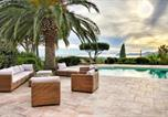Location vacances Ramatuelle - Splendid villa with sea view at La Croix Valmer-2