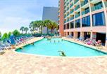 Hôtel Myrtle Beach - Sandcastle Oceanfront Resort South Beach