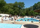 Camping avec Piscine Seyne - Camping  Au Vallon Rouge-2