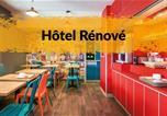 Hôtel Franche-Comté - Hotelf1 Dole-3