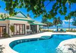 Villages vacances Samui - Beachfront Villa Baan Chaai Haat 4br-1