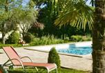 Hôtel 4 étoiles Champagnac-de-Belair - Hôtel Les Glycines - Restaurant & Spa-1