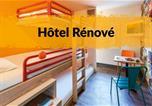 Hôtel Gironde - Hotelf1 Bordeaux Ville-4