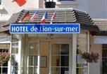 Hôtel Périers-sur-le-Dan - Hôtel de Lion sur Mer-2